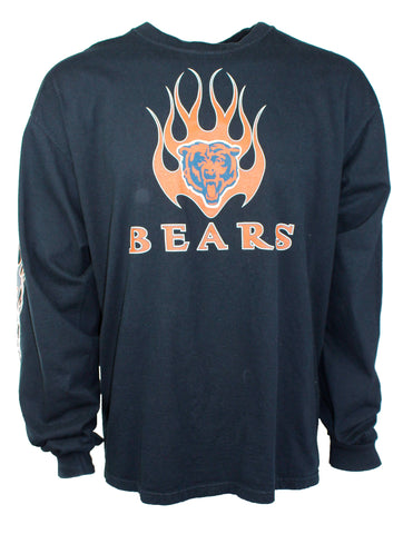 Vintage Long Sleeve Chicago Bears Tee