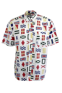Vintage Dockers Flag Shirt