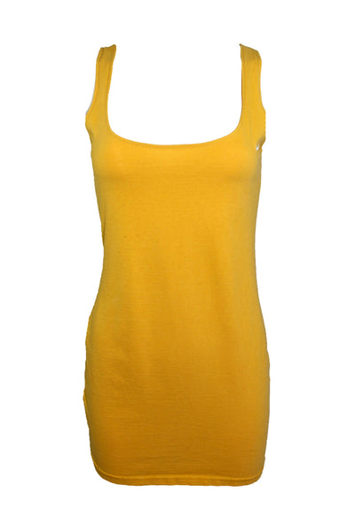 Reworked Vintage Yellow Nike Tank Dress