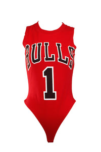 Reworked Chicago Bulls Derrick Rose Bodysuit
