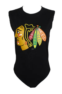 Reworked Chicago Blackhawks Kane Bodysuit