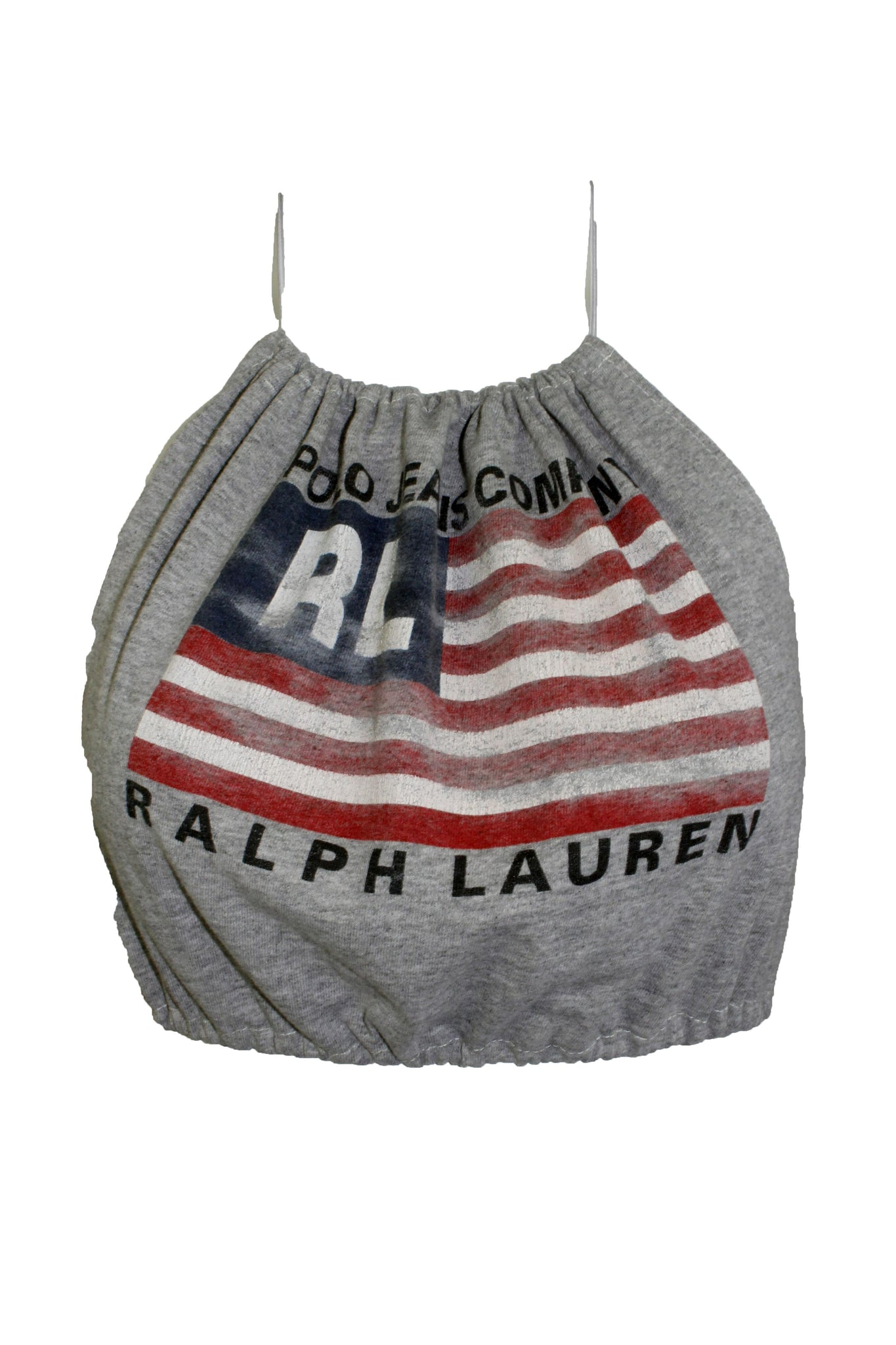 Reworked Vintage Ralph Lauren Polo Halter Top