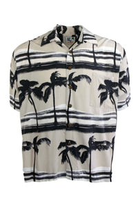 Vintage Brown Hawaiian Shirt