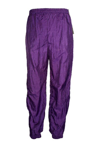 Vintage Della Wear Purple Windbreaker Pants
