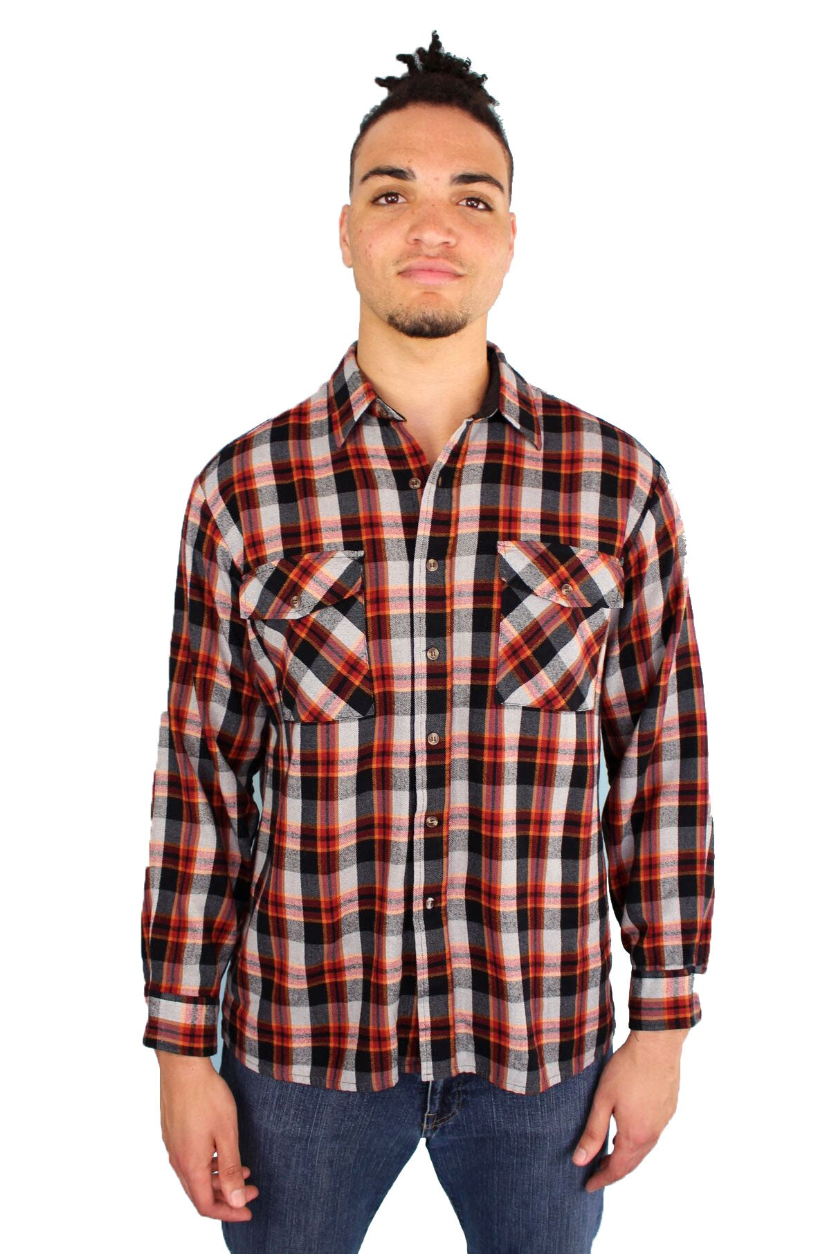 Vintage Plaid Dad Button Down