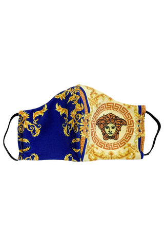 Reworked Versace Face Mask