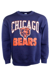 Vintage Navy Chicago Bears Crewneck