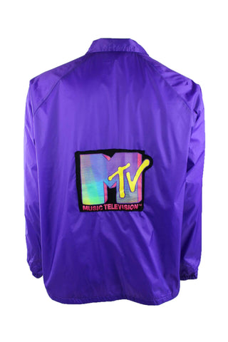 Reworked Vintage MTV Windbreaker