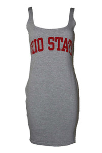 Reworked Vintage Ohio State Dress