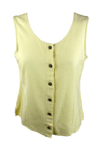 Vintage Pale Yellow Tank