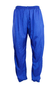 Vintage Blue Windbreaker Pants