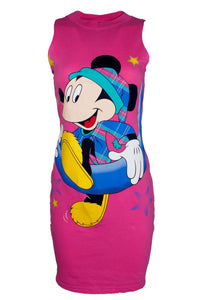 Reworked Vintage Disney Mickey Mouse Dress