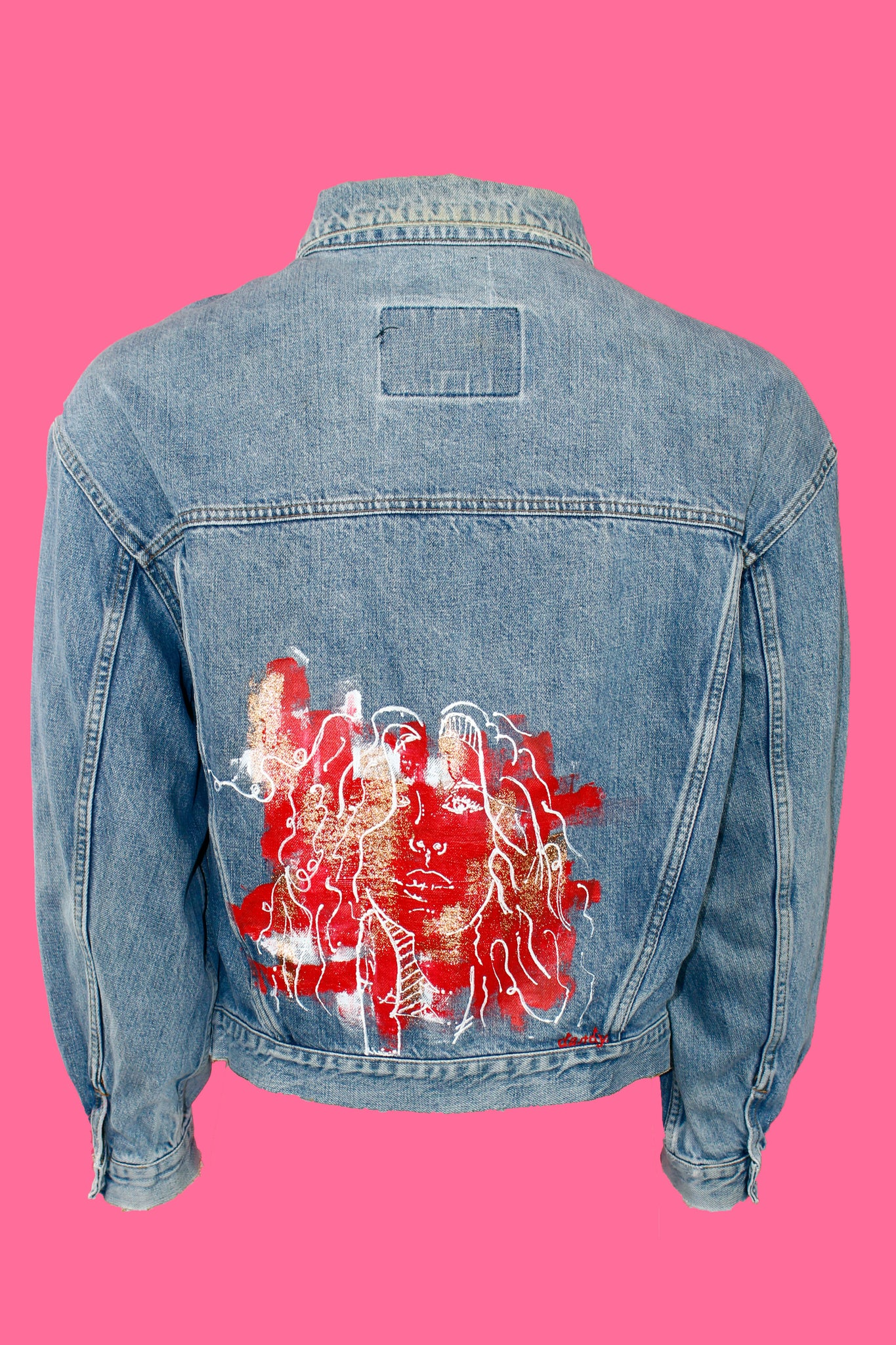 Dandy Fire Girl Jean Jacket