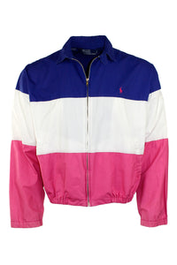 Vintage Polo Color Block Jacket