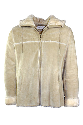 Vintage Furry Suede Jacket
