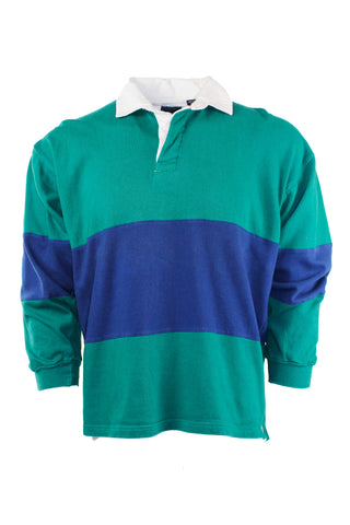 Vintage Color Block Polo
