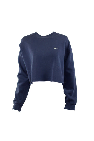 Reworked Vintage Cropped Nike Sweater