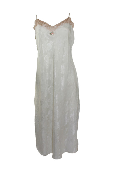Vintage Satin and Lace Nightgown
