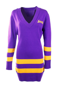 Vintage LA Lakers Sweater Dress