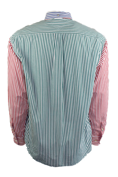 Vintage Tommy Hilfiger Multicolor Striped Button Down