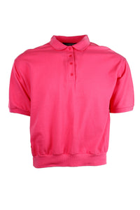 Vintage Pink Short Sleeve Polo