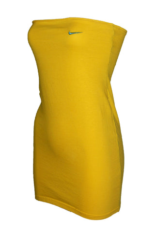 Reworked Vintage Yellow Nike Dress