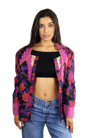 Vintage 80's Purple Rain Jacket