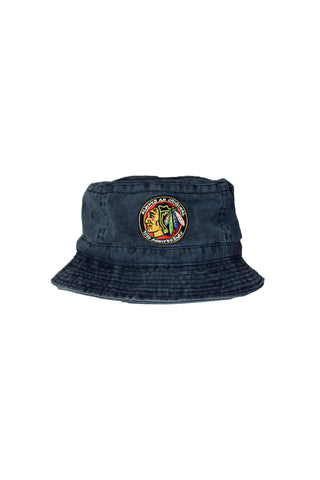 Vintage Blackhawks Bucket Hat