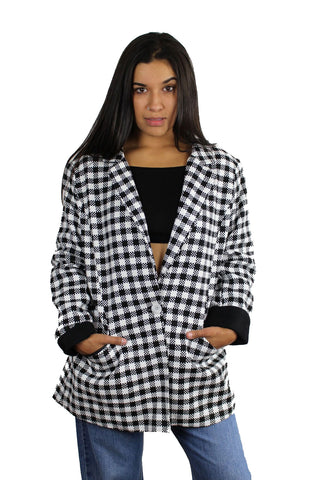 Vintage Checker Blazer