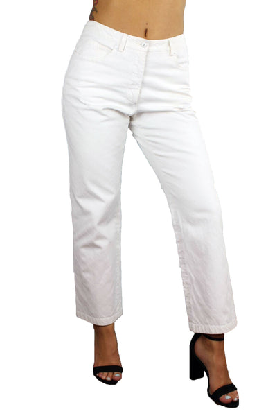 Vintage White Chanel Pants