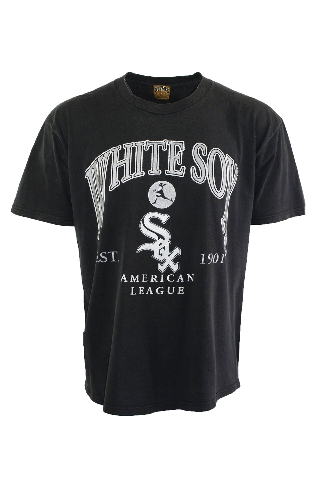 Vintage Black White Sox Tee