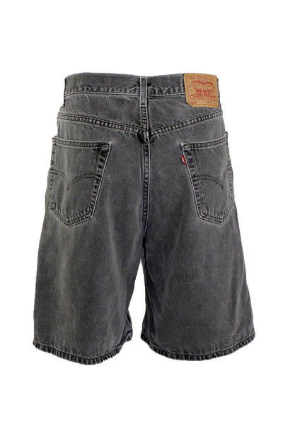Vintage Levis Black Denim Shorts