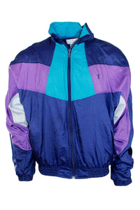 Vintage Blurple Windbreaker