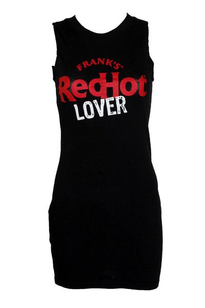 Reworked Vintage Frank's Red Hot Dress