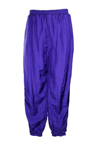 Vintage 90s Purple Windbreaker Pants
