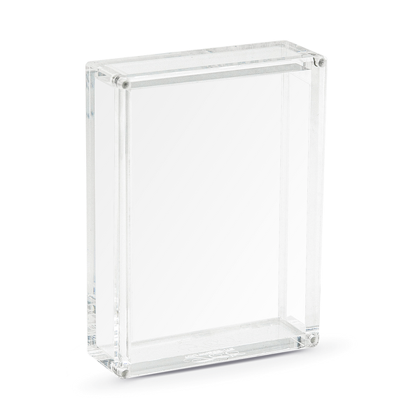 CRYSTAL PLAYING CARDS DISPLAY CASE  BY TCC
