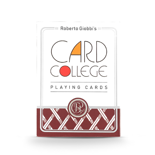 AUTHORIZED BY ROBERTO GIOBBI丨CARD COLLEGE STANDARD PLAYING CARDS BY TCC