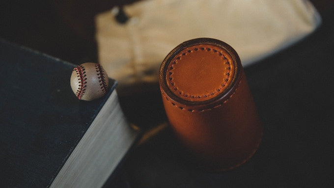 LEATHER CHOP CUP BY TCC