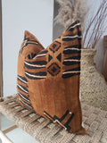 Mudcloth Pillow Cover Earth