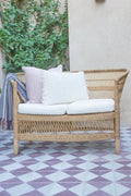 Malawi  Double Armchair Natural