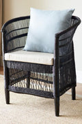 Malawi Armchair Natural Black