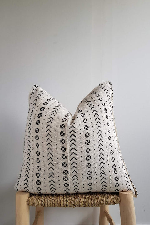Mudcloth Pillow Cover from Mali
