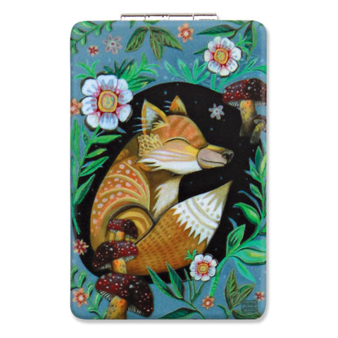 ALLEN DESIGNS COMPACT MIRROR FOX