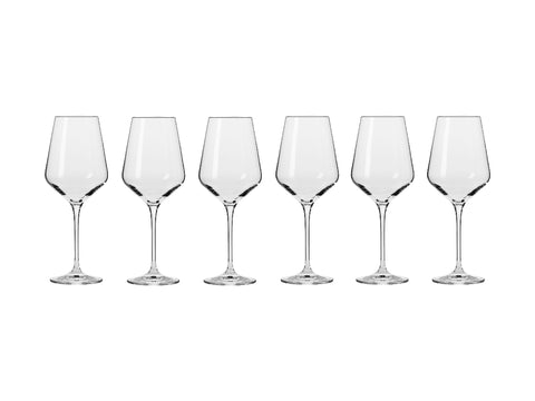 MW KROSNO AVANT-GARDE WINE GLASS 390ML 6PC GIFT BOXED