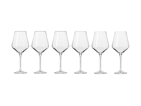 MW KROSNO AVANT-GARDE WINE GLASS 490ML 6PC GIFT BOXED