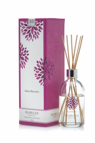 BRAMBLE BAY SAKURA BLOSSOM SCENTED ROOM DIFFUSER 180ML