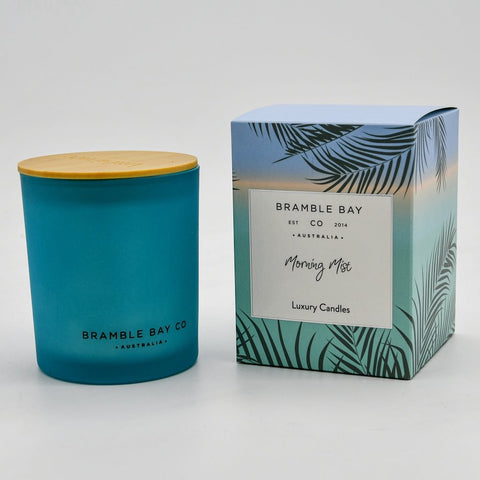 BRAMBLE BAY MORNING MIST CANDLE 300G