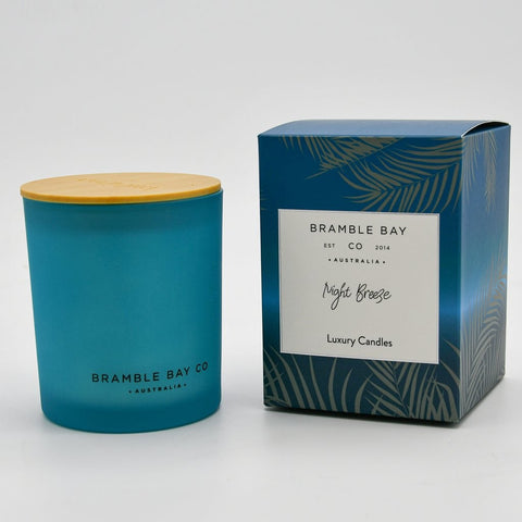 BRAMBLE BAY OCEAN NIGHT BREEZE CANDLE 300G