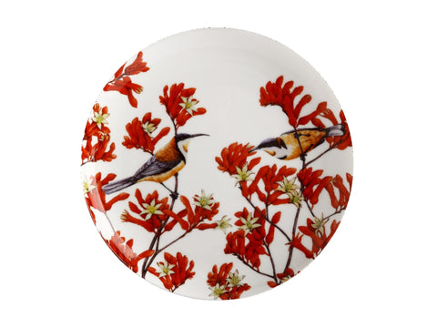 MW Royal Botanic Gardens - Garden Friends Plate 20cm Spinebill Gift Boxed