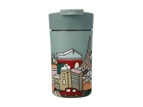 MW Megan McKean Cities Double Wall Insulated Cup 350ML Melbourne